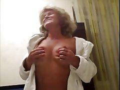 Hot 55 yo Russian full-grown Galina play involving skype