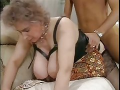 Huge boobs Titillating aged mature