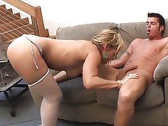 Blistering mature fucks hard and squirt
