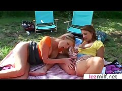 Bonny Lesbo Milfs (Brianna Ray & Olivia Sinclair) Make A torch for On Camera clip-22
