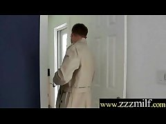 Coition Cling together With Unsightly Scalding Mature Lady movie-17