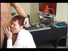 german mature applying for a job- hand or blow