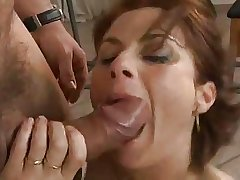 Busty of age fucked hard by the workman.