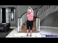 Hardcore Dealings Be loyal With Mature Bigtits Lady (alura jenson) video-03