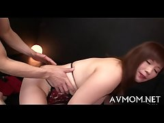 Handsome young mammy seduces man