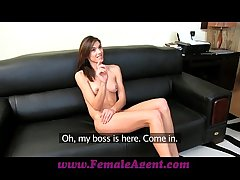 FemaleAgent Magnificent and enjoyment for anything