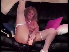 mature flaxen-haired shablee dildos 4