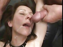 Matured Fist and Sperm Bang