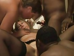 Amateur - Of age MMMF IR Bareback Creampie Foursome