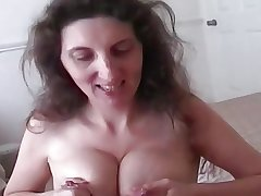 Lactating full-grown milks space fully giving great blowjob