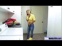 Busty Housewife (alexis fawx) Having Sex On Camera clip-01