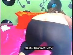 Thick BBW plays with herself on camera-x69cams.net
