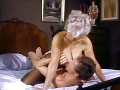 Hot matured yon careful tits gets fucked at the end of one's tether John Holmes and his deathless cock