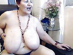 dance big tits full-grown