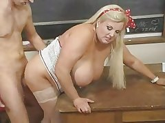 Hot Mature BBW Instructor Kirsten Halborg