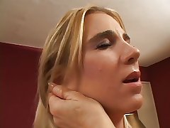 Broad in the beam grown up blonde get her pussy fingered wits off colour slut