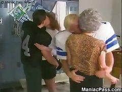 Of age sluts' locker enclosure fuck