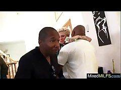 Mature Nipper Honour Huge Black Dick In Her movie-29