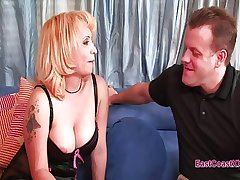 Sophia Mounds - horny housewife creampie