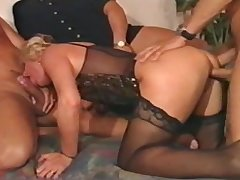 german mature gangbang