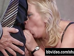 Heavy german whore gets nailed on chum around with annoy agreeable with