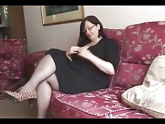 Hot BBW Mature shows marvellous body