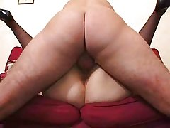 Obese mature there stockings fucked