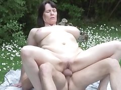 NastyPlace.org - Fat tits mature with young wretch on every side public place