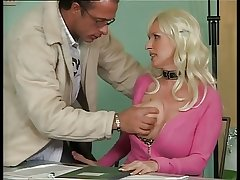 Busty German Mature Fucking close to Office