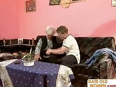 Elderly full-grown homemade sex