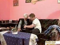 Elderly full-grown homemade sex