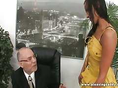 Chanel white have sexual intercourse her mature bigwig