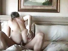 Amateur mature couple