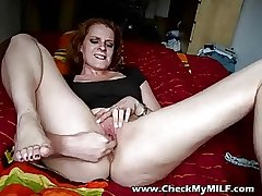 Stall my MILfs arse and shaved pussy - MILF porn