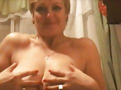 Hot 45 yo Russian matured Larisa play give skype