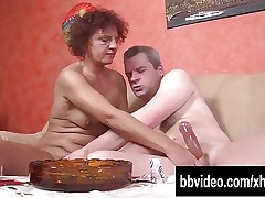Sex-crazed full-grown german In upon cock