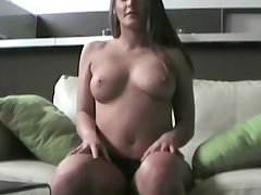 Sexy milf loves to touch herself especially her unmask tits and pussy