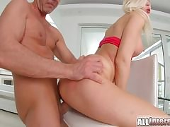 Ani Black Fox has hot poof sex with older woman