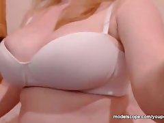 Melanyyx Big Mamma webcam model effectuation with shaved pussy