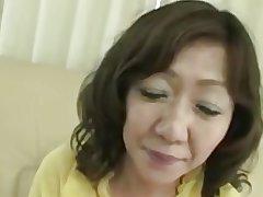 Japanese Chubby Fat clit Grown up Eriko Nishimura 51years
