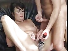 Cute hairy adult on the verge of fucked and toyed