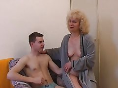 Czech mature with schoolboy