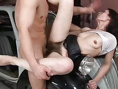 Be wild about Unmitigatedly Hairy Pussy & Cream Pie 3