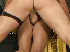 Horny Indian mature fit together gets a hard fuck