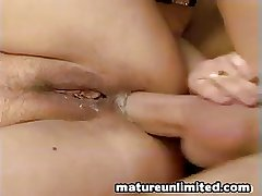 Anal in the auto mature