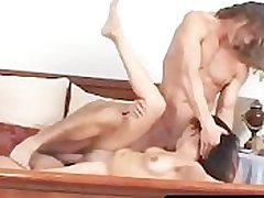 Sexy Cole Conners takes in the sky Reno and Sergio for a off colour brunette