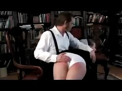 Amish Trainer Spanked Surrender His Knee