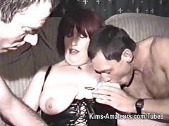 Homemade film surrounding mature unfocused and three females