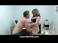 Horny milf fucking hard with respect to broad in the beam cock hunter 2