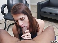 HDVPass Cute beamy tits Milf deep throating!